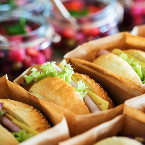 Canapé Service - Wedding Catering Menu