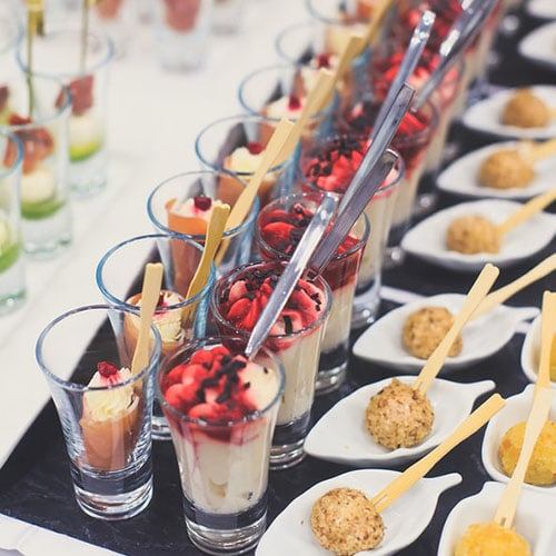 Small Plates and Stations - Event Catering - Decadent Catering Toronto