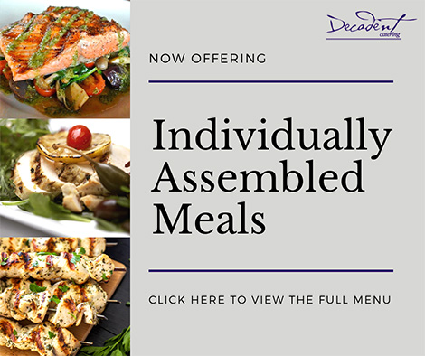 Individually Assembled Meals - Catering Toronto & the GTA